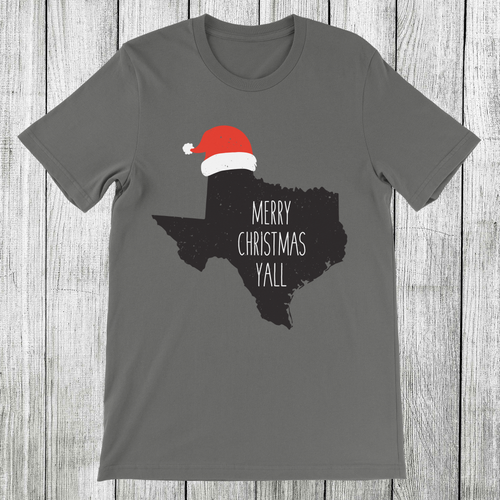 Daydream Tees Merry Christmas Yall TX