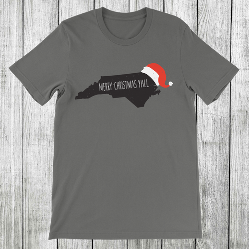 Daydream Tees Merry Christmas Yall NC