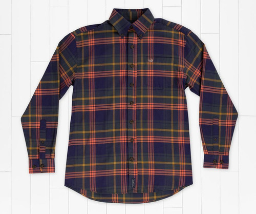 Southern Marsh Sussex Plaid Flannel Mountain Purple & Sage