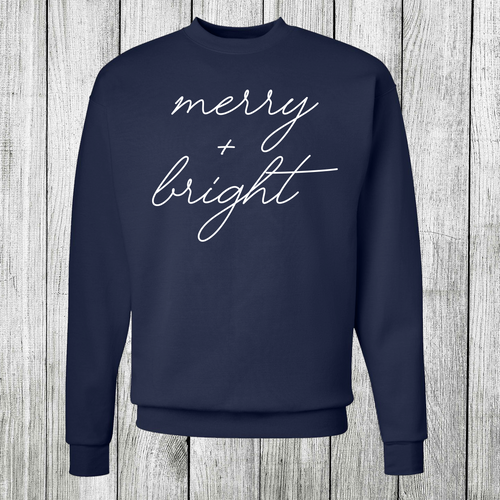 Daydream Tees Merry + Bright Long Sleeve