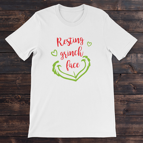 Daydream Tees Resting Grinch Face