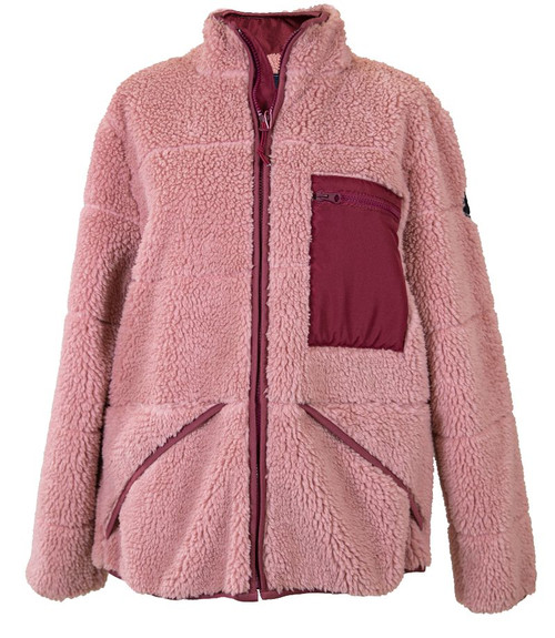 Simply Southern Puffer Jacket Pink
