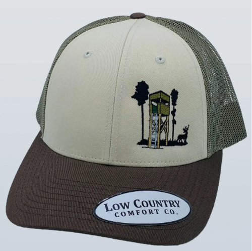 Low Country Deer Stand Tan/Loden/Brown Hat