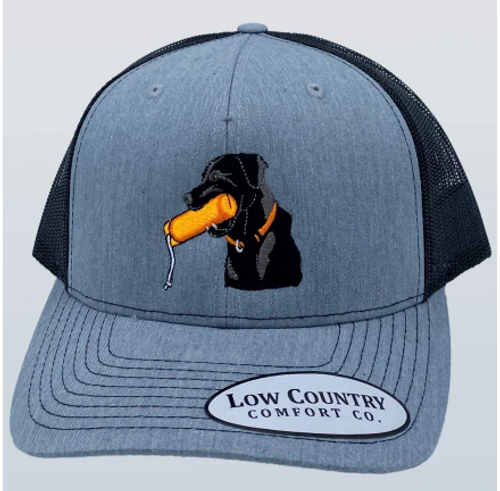 Low Country Dog Training Toy Heather/Black Hat
