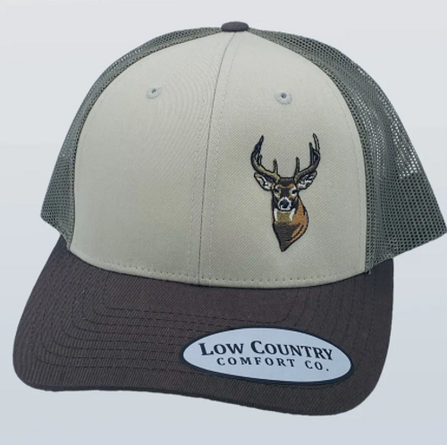 Low Country Shot Caller Deer Tan/Loden/Brown Hat