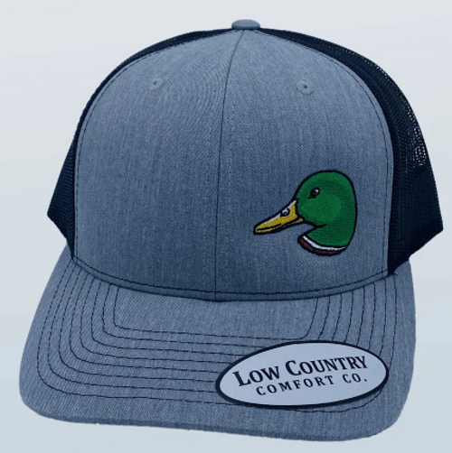 Low Country Mallard Side Panel Heather/Black Hat