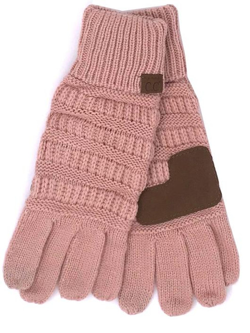 Girlie Girl Indi Pink Gloves Youth