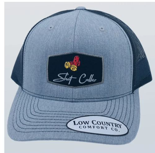 Low Country Shot Caller Shotgun Shells Heather/Black Hat