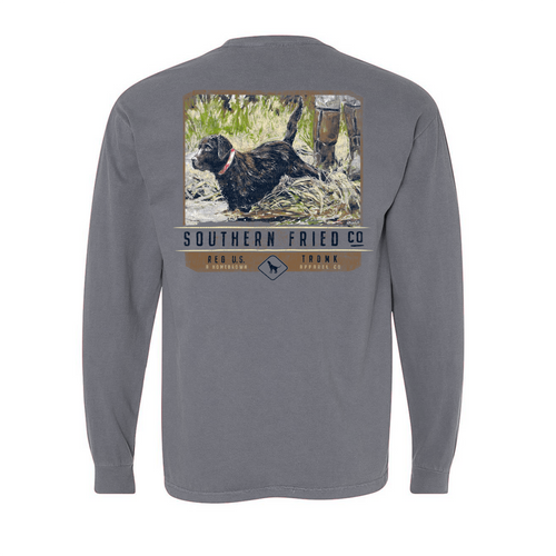 Southern Fried Cotton Waters Edge LS