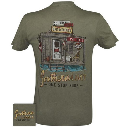 Southern Limit Bait & Tackle Light Olive Short Sleeve