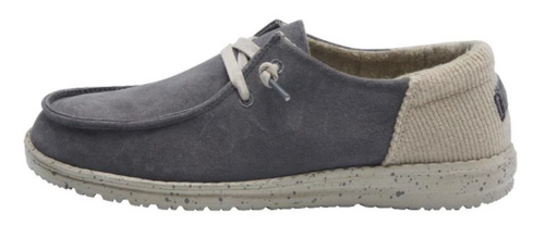 Hey Dude Wendy Suede Dark Grey