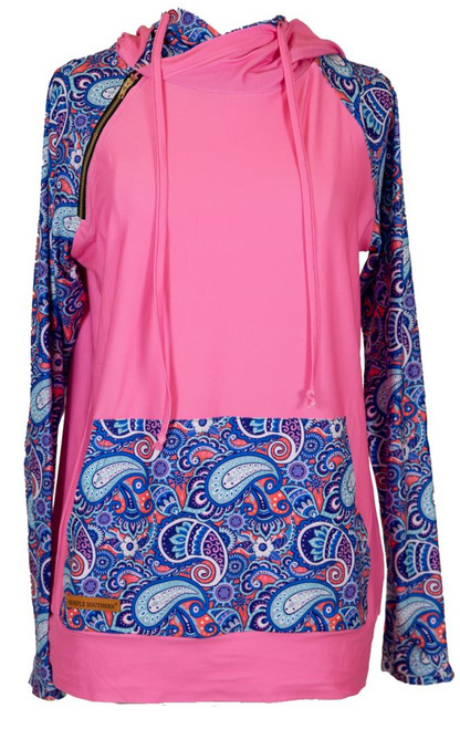 Simply Southern Double Hoodie Paisley