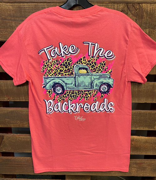 Chloe Lane Backroads Truck SS Coral Silk