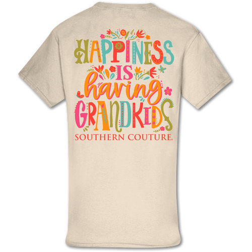 Southern Couture Happiness Is Grandkids SS Natural