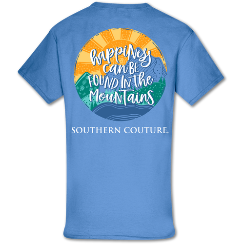 Southern Couture Happiness in Mountains SS Carolina Blue