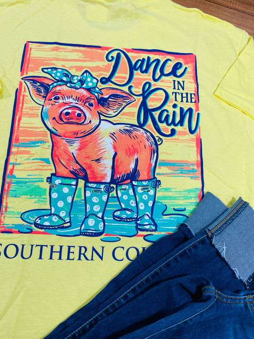 Southern Couture Dance in the Rain SS Cornsilk