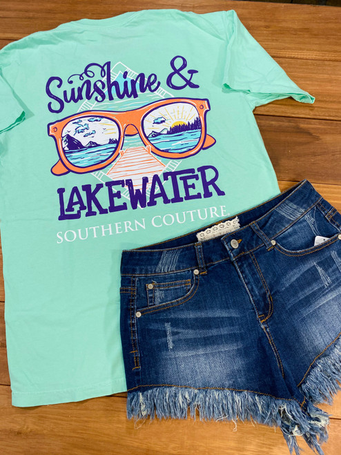 Southern Couture Sunshine & Lake Water Island Reef