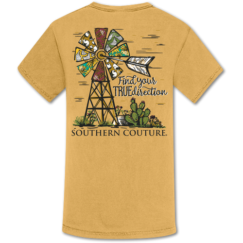 Southern Couture Find Your True Direction Mustard