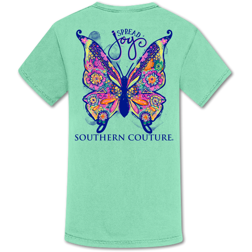 Southern Couture Spread Joy Butterfly Island Reef