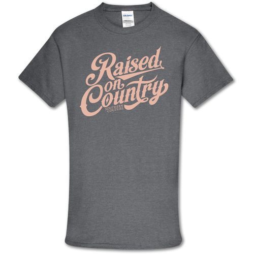 Southern Couture Raised On Country Graphite Heather