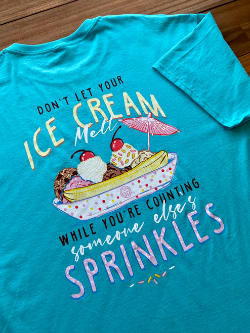 Girlie Girl Originals Ice Cream Melt Scuba Blue