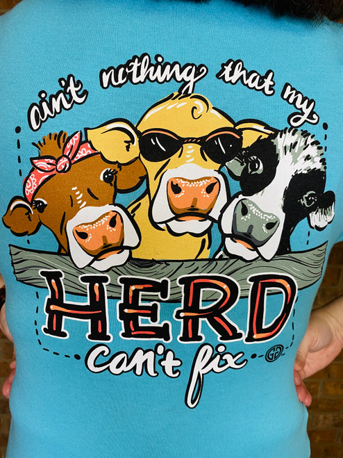 Girlie Girl Originals Herd Can't Fix Scuba Blue