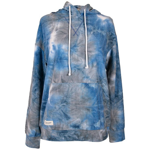 Simply Southern Corded Hoodie Blue