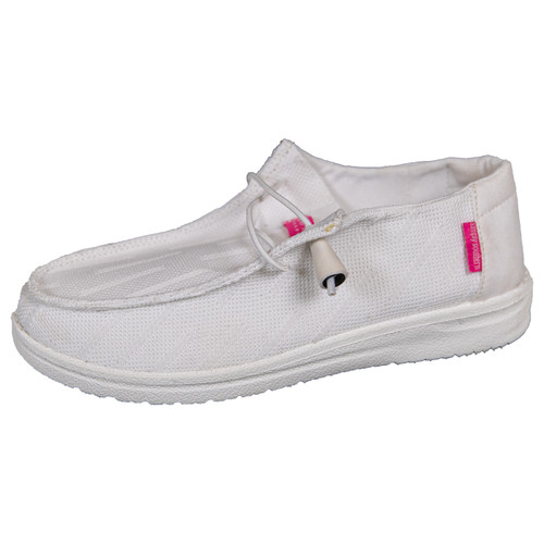 Simply Southern Slip On White Shoes