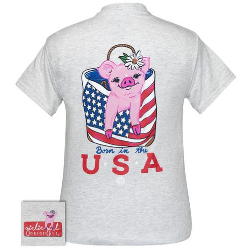 Girlie Girl Originals USA Piggy Ash