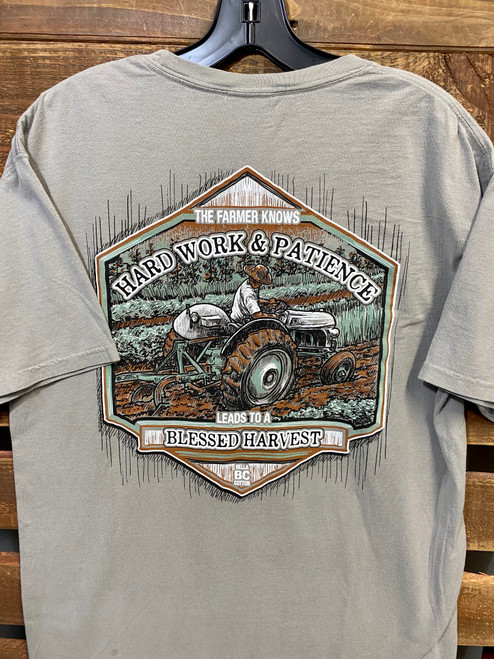Bella Cotton Garden Tractor Gray