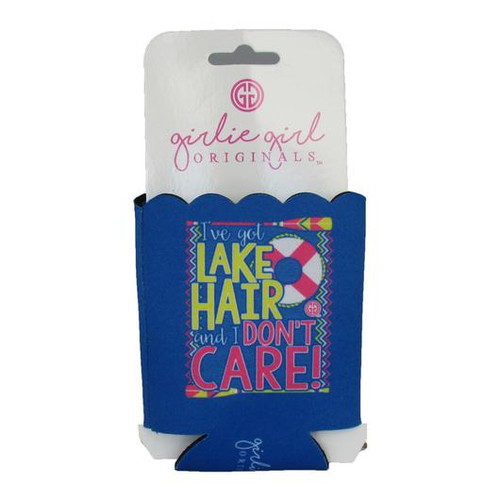 Girlie Girl Originals Lake Hair Don't Care Koozie