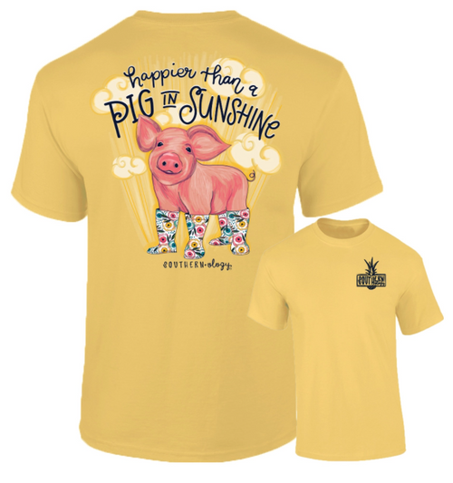 Southernology Happier Than A Pig In Sunshine