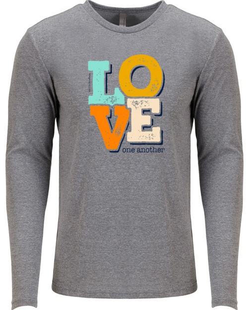 Southernology Love One Another LS Gray