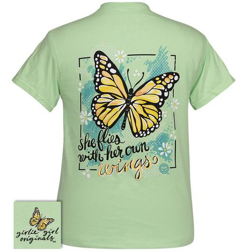 Girlie Girl Originals Her Own Wings Mint Green