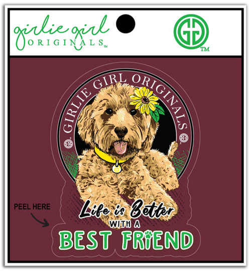 Girlie Girl Originals Best Friend Decal/Sticker