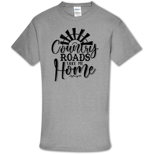 Highway 828 Country Roads SS Sport Gray