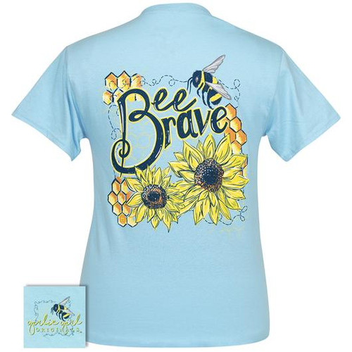 Girlie Girl Originals Bee Brave Sky Blue