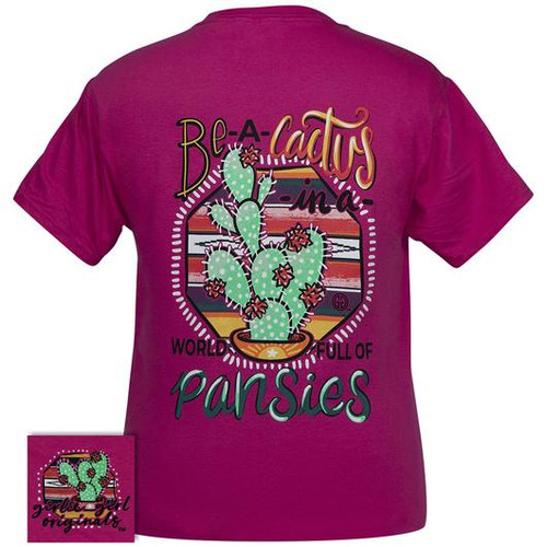 Girlie Girl Originals Be A Cactus Cyber Pink