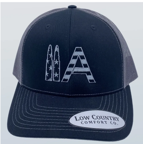 Low Country 2A Black/Charcoal Hat