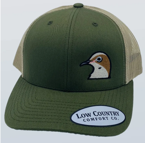 Low Country Dove Side Panel Moss/Khaki Hat