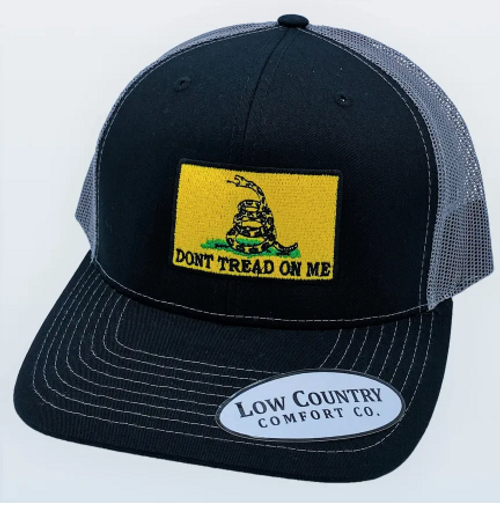 Low Country DTOM Flag Black/Charcoal Hat