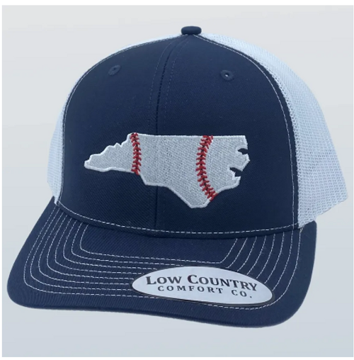 Low Country NC Baseball Navy/White Hat