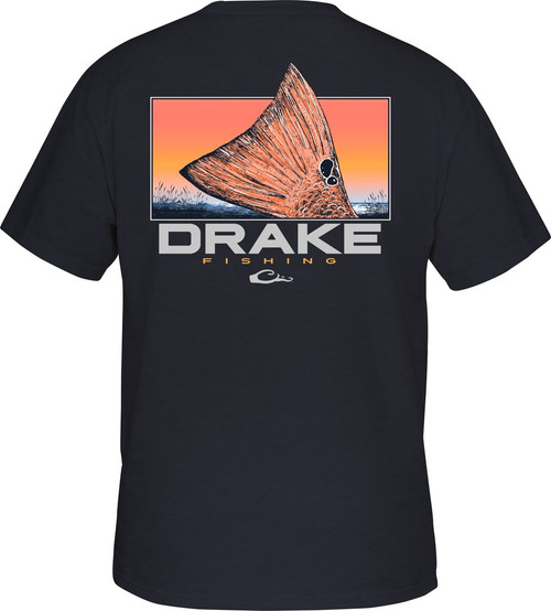 Drake Red Tail T S/S Navy