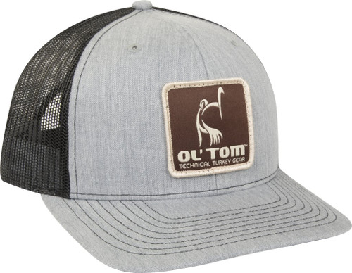Drake Ol' Tom Mesh Back Patch Cap Gray/Black OSFM