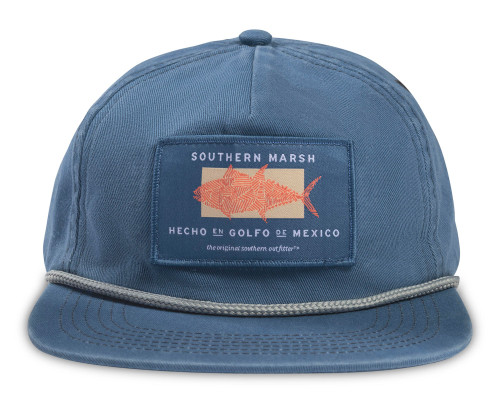 Southern Marsh Ensenada Rope Made in the Gulf Hat