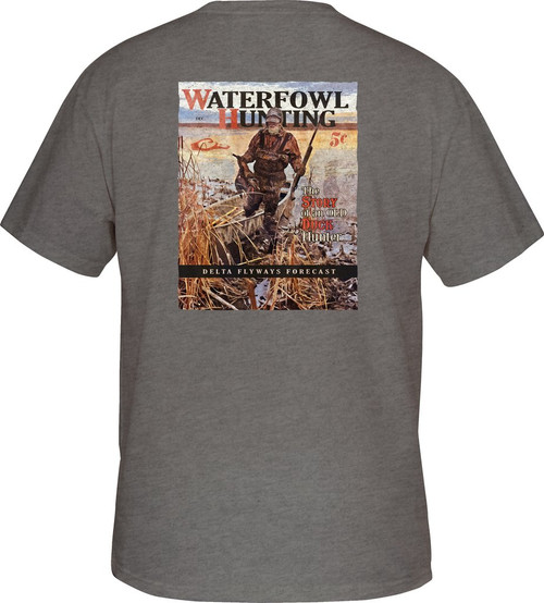 Drake Hunting Waterfowl Tee S/S Graphite Heather