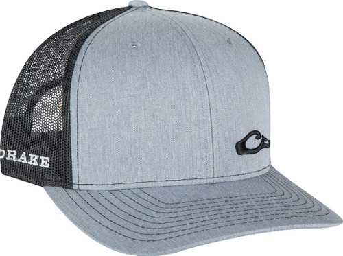 Drake Enid Mesh Back Cap Heather/Black OSFM