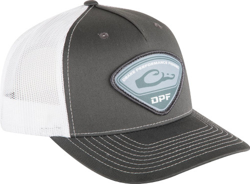 Drake 5-Panel Tri-Patch Cap Charcoal / White OSFM