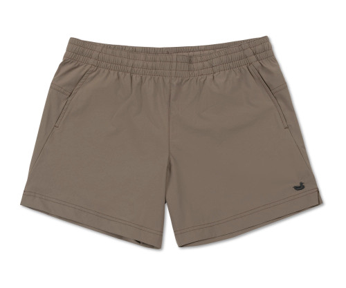 Southern Marsh Grace Active Shorts Burnt Taupe