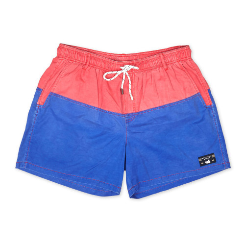 Southern Marsh Seawash Trunk Colorblock Pink/Royal